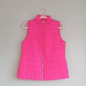 NWT Michael Kors Pink Puffer Vest